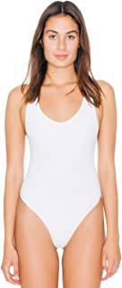 Women's Jersey Tank Thong Bodysuit
