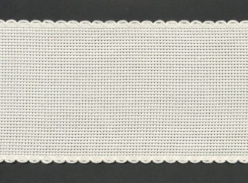 Stitchtastic Bande Aida 10 cm de large (14 points) – Ivoire/crème