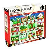 Petit Collage FP-Christmas Train Children's Floor Puzzle, Christmas Train (24 Pieces)