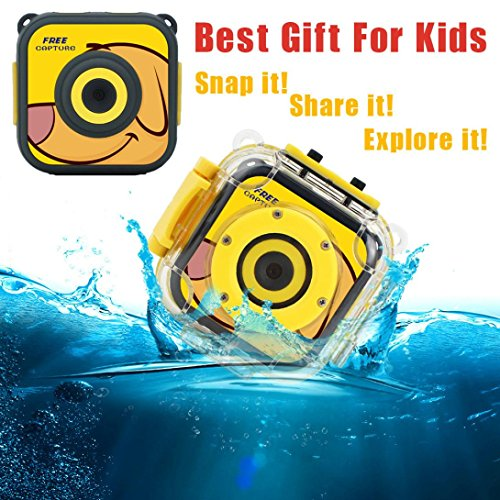 Gaddrt 720p sport Action Camera, videocamera HD 4,5cm videocamera, videocamera subacquea per immersioni impermeabile ciclismo escursionismo Adventurer (giallo)