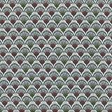 Textiles français Baumwollstoff | Fächer im