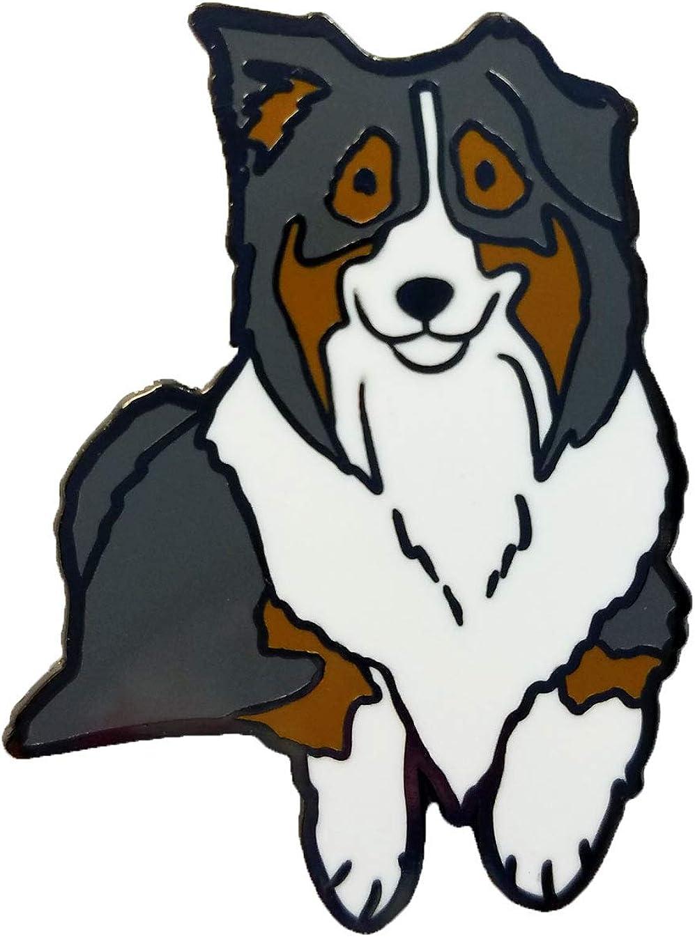 Dark Spark Decals Australian Shepherd Dog 1.75