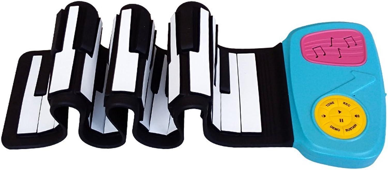 LuckyAnn Keyboard Kinder Smart Hand Roll Piano Folding und tragbare frühkindliche Bildung