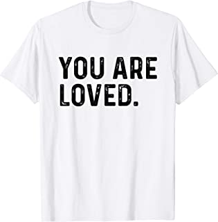 You Are Loved   Deluxe Vintage Christian T-shirt Gift