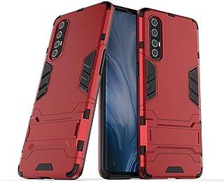 جراب FanTing لهاتف Oppo Reno3 Pro، قوي ومقاوم للصدمات، مع حامل هاتف محمول، غطاء لـ Oppo Reno3 Pro- Oppo Reno3 Pro Oppo Ren...