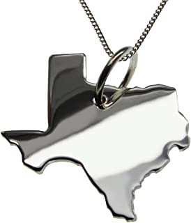 GARDASEE Anhänger in massiv 925 Silber mit 50cm Halskette