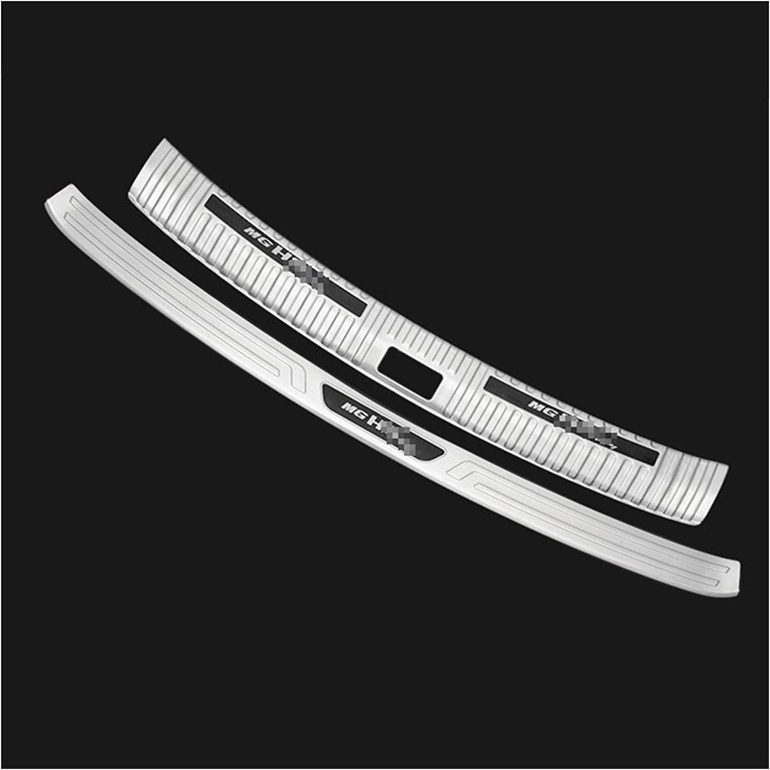 ZLLD Bumper Ranking TOP7 Guards Stainless Austin Mall Steel Protector Rear Sil Car