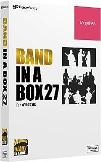 PGmusic Band in a Box 27 Windows版 MegaPAK バンドインアボックス 自動作曲ソフト PGミュージック