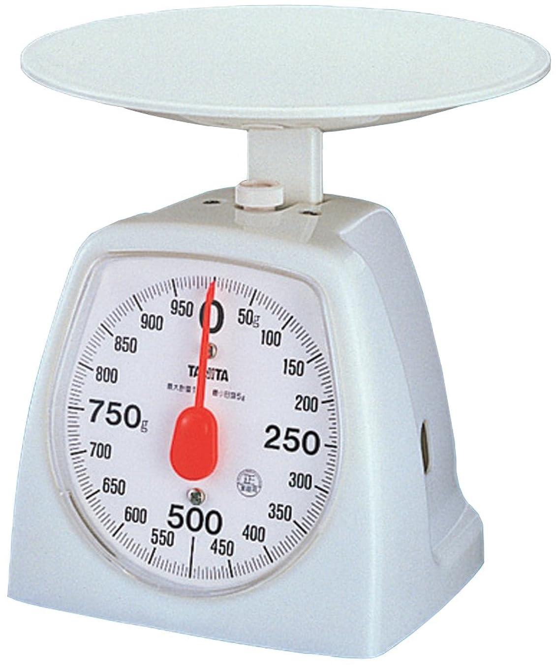 エトナ山浸食ペナルティTANITA アナログクッキングスケール 1kg ホワイト 1439-WH-1KG