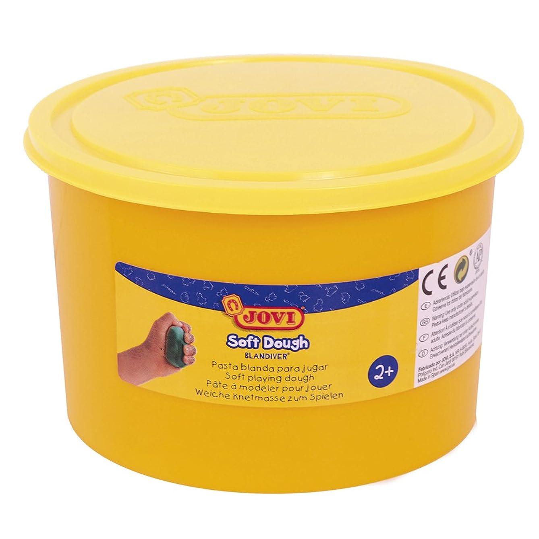 Jovi?–?Soft Dough blandiver, Pot of 460?g, Fluorescent Yellow (46004?°F)