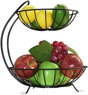 Snack Verdura Perfetto per Frutta Cesto di Frutta Portafrutta da appoggio Supporto Decorativo per Ciotola Articoli per la casa e Molto Altro Dorato