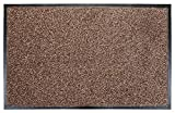 UAREHOME SOFT TOUCH SUPER ABSORBENT HEAVY DUTY NON SLIP BARRIER MAT LARGE SMALL RUGS RUNNER KITCHEN DOOR HALL (Sand, 60 x 90 cm)