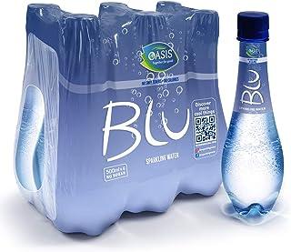 Oasis Blu Sparkling Water, 6 x 500 ml