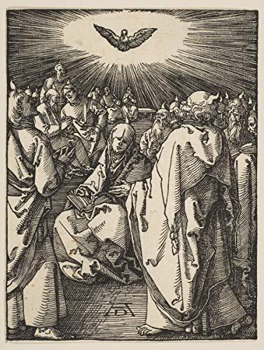 Albrecht Durer Giclée Leinwand Prints Gemälde Poster Wohnkultur Reproduktion(Pfingsten aus der kleinen Leidenschaft) Große größe 74.7 x 99.1cm