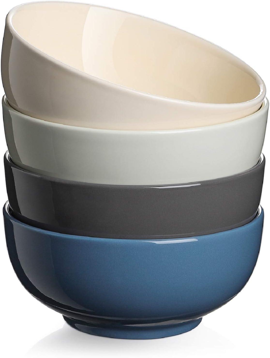 DOWAN Soup Bowls for List price Kitchen - Ranking TOP1 Oz Servin Large 22 Porcelain