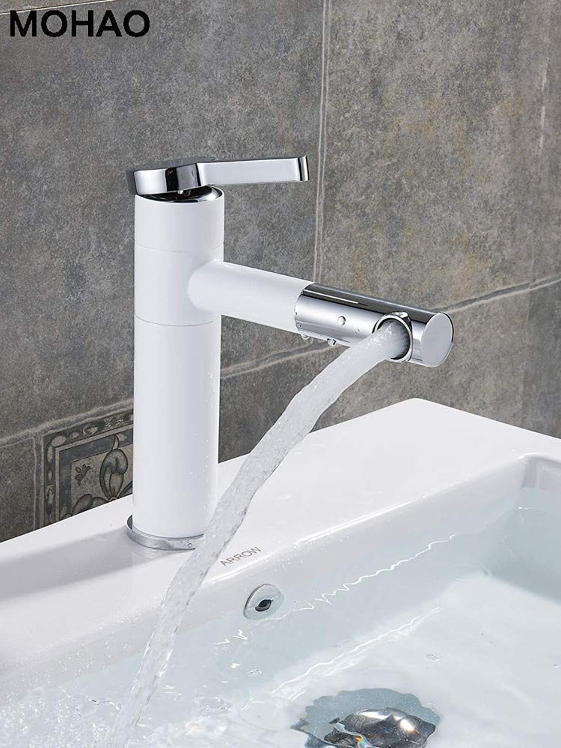 Water Tap Tools Taps Nordic All-Copper Basin Hot and Cold Faucet Washbasin Washbasin Above Counter Basin Can Be redated On The Faucet Bathroom