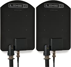 Line 6 P180 Antenna Pair | 2,4 GHz Wireless Directional Active Antenna Pair for XD-V75 XD-V70 XD-V55 Relay G90 XD-AD8
