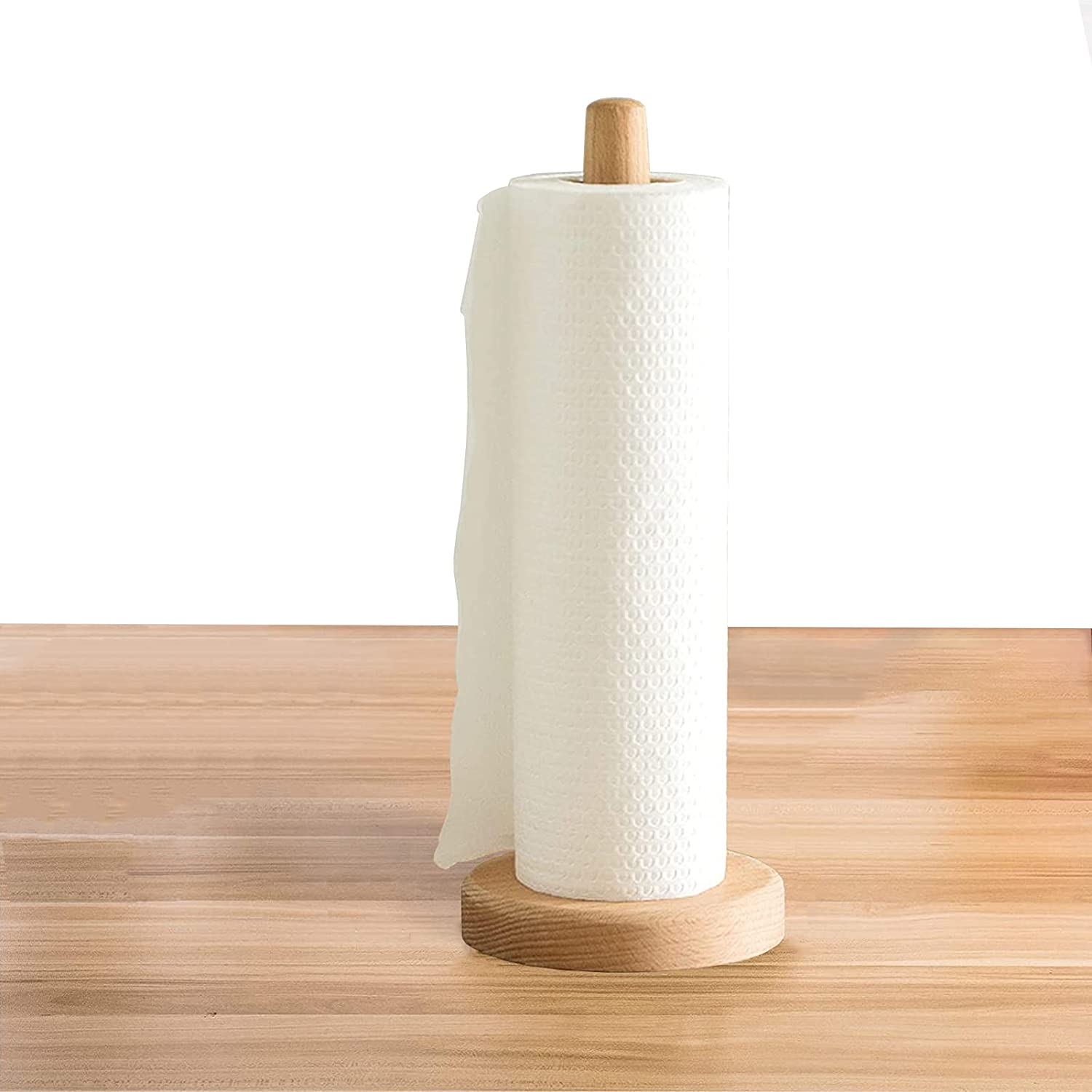 Yistao Wood Popular popular Wholesale Paper Towel Wooden Counte Holder