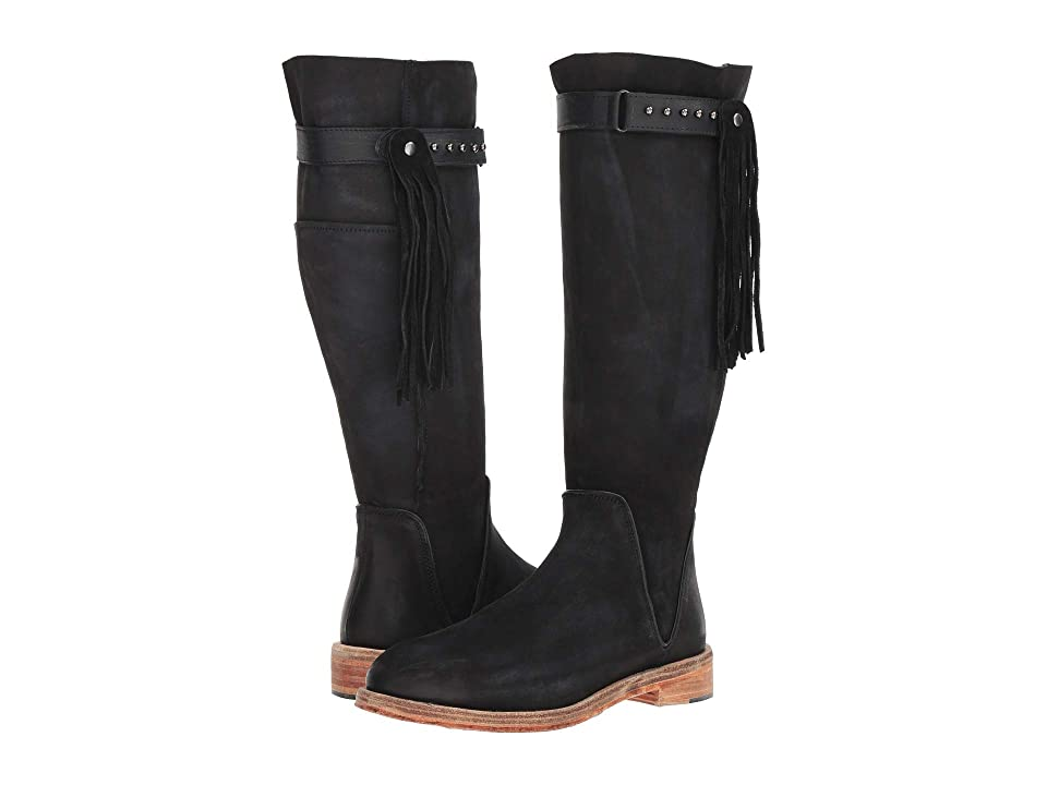 Free People Sayre Mid Boot (Black) Women