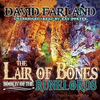 The Lair of Bones audiobook cover art
