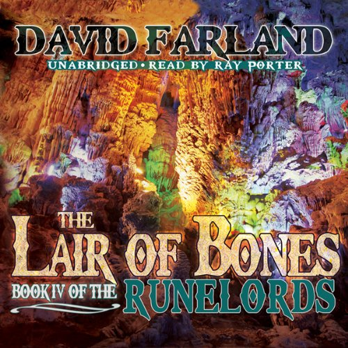 The Lair of Bones audiobook cover art