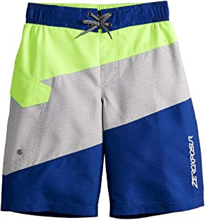 ZeroXposur Boys Swim Trunks Beach Pool Surfing Board Shorts 8-20