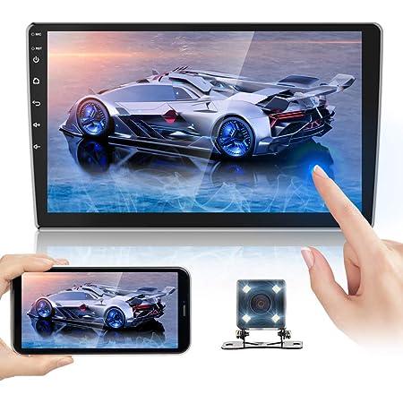 Toogoo 2 Din Auto Radio 10 1 Zoll Hd Auto Mp5 Multimedia Spieler Android 8 1 Auto Radio Gps Navigation Wifi Auto