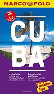Cuba Marco Polo Pocket Travel Guide - with pull out map