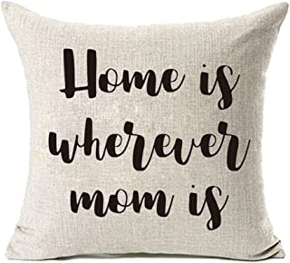 Best home is where mom is pillow Reviews
