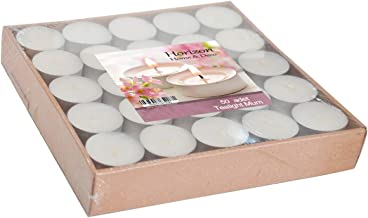 Horizon Candles TeaLights Uncented Candle 50 pieces