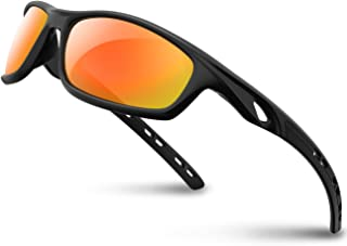 Polarized Sports Sunglasses Driving Sun Glasses Shades for Men Women Tr 90 Unbreakable Frame for Cycling Baseball Running Rb833