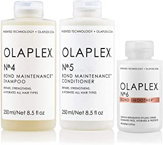 Olaplex Set - Olaplex Bond Maintenance Shampoo No 4 (250ml) + Olaplex Bond Maintenance Conditioner No 5 (250ml) + Olaplex ...