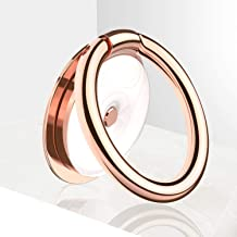 VICSEED Phone Ring Holder Gorgeous Porcelain Zinc Ring Kickstand Phone Finger Ring Grip Cell Phone Ring Holder Gift 360° Rotation Fit with iPhone 11 Pro Max Samsung Galaxy Note10 Phones – Rose Gold