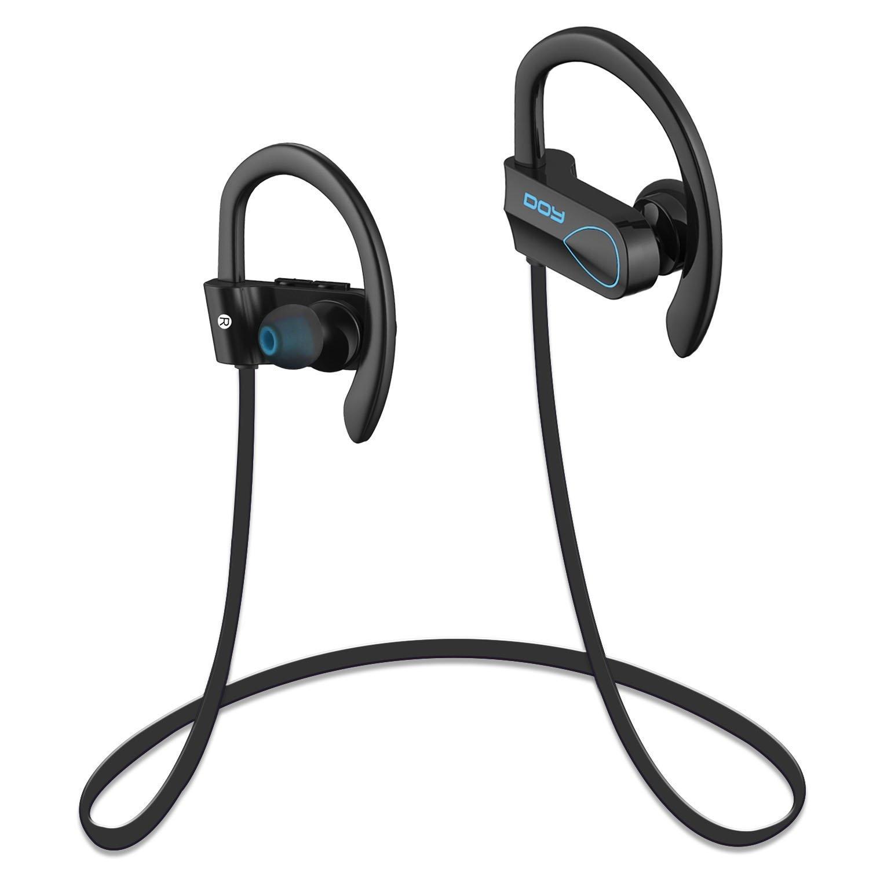 Inal¨¢mbrico Bluetooth 4.1 DOY Auriculares con Ruido Reducido Deportivos Auriculares y estereof¨®nicos CVC 6.0 Aplicables a Apple, Samsung, Huawei y Otros Dispositivos Bluetooth: Amazon.es: Electrónica
