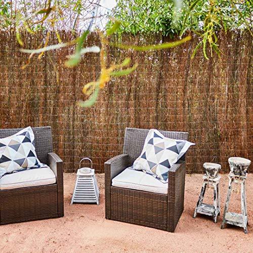 Catral 11010001 Brezo Ecológico Standard, Marrón, 500 x 3 x 100 cm