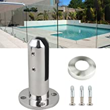 FreeLeben Glasklem Panel Post, zware belasting, roestvrij staal, trap, zwembad, balustrade, balkon met leuning, glashek, klem