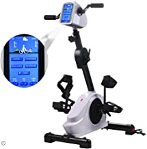 Electronic Physical Therapy Rehab bike Trainer exerciser Cycle Arm Leg Pedal Exerciser Bike Health Recovery Pedal exerciser With 7 inch Display Touchscreen for Handicap, Disabled and Stroke Survivor