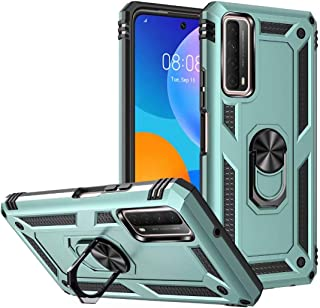 FTRONGRT Case for Huawei nova 8i, Rugged and shockproof, with Mobile Phone Holder, Cover for Huawei nova 8i-D G