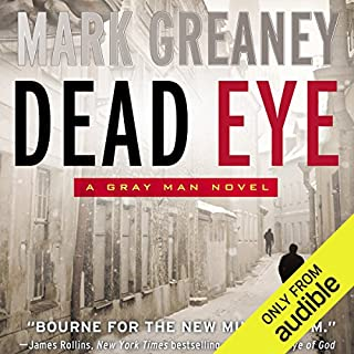 Dead Eye audiobook cover art