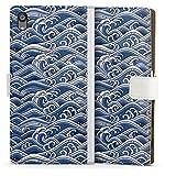 DeinDesign Etui Compatible avec Sony Xperia Z5 Premium Etui Folio Etui magnetique Vague Japon Asie