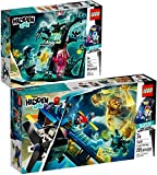 LEGO Hidden Set 70427 Le Monde hanté d'Hidden Side + 70429 L'avion de voltige d'El Fuego