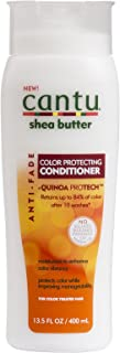 Cantu Shea Butter Conditioner Anti-Fade 13.5 Ounce (400ml) (6 Pack)