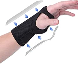 CROSS1946 Wrist Brace,Wrist Support for Carpal Tunnel with Splints,Wrist Tendinitis Pain Relief,Sport Injury Support for D...