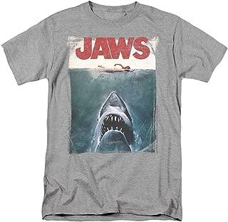 Jaws Shark Original Movie Poster T Shirt & Stickers