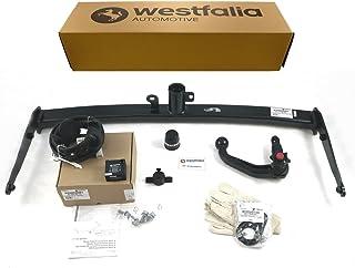 Westfalia abnehmbare Anhängerkupplung für VW Passat B8 Variant / Limousine (BJ ab 11/2014) im Set mit 13 poligem fahrzeugspezifischen Westfalia Elektrosatz