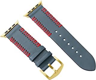 Bonstrap 40/44mm Leather Watch Band Replacement Option Color Compatible with Apple Watch Band Series 4