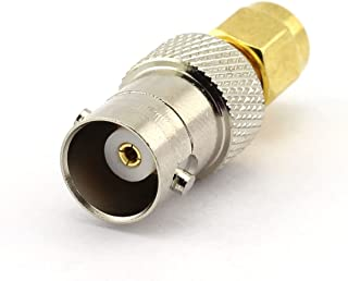 DGZZI 2-Pack BNC Female to SMA Male RF Coaxial Adapter BNC to SMA Coax Jack Connector