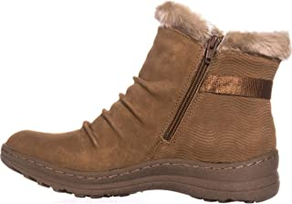 BareTraps Womens Avita Closed Toe Ankle Cold Weather Boots Whiskey Size 10.0 M US