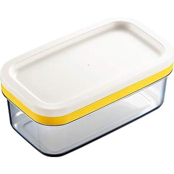 曙産業 バターケース 日本製 ギュッと一押し バターを5gの薄切りに簡単カット 冷蔵庫でそのまま保存 カットできちゃうバターケース ST-3005