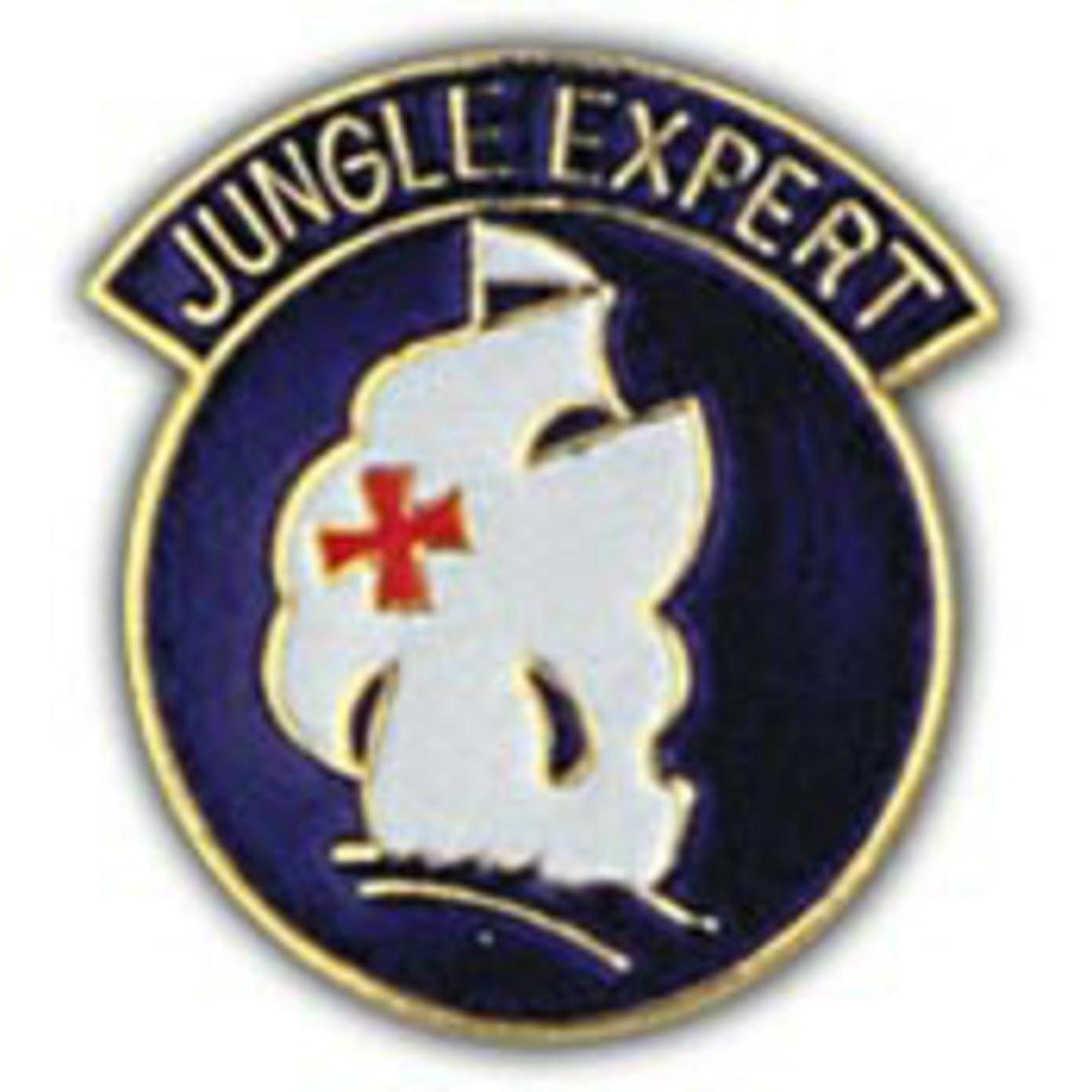 EagleEmblems P14943 Pin-Army,Jungle Expert (1'')
